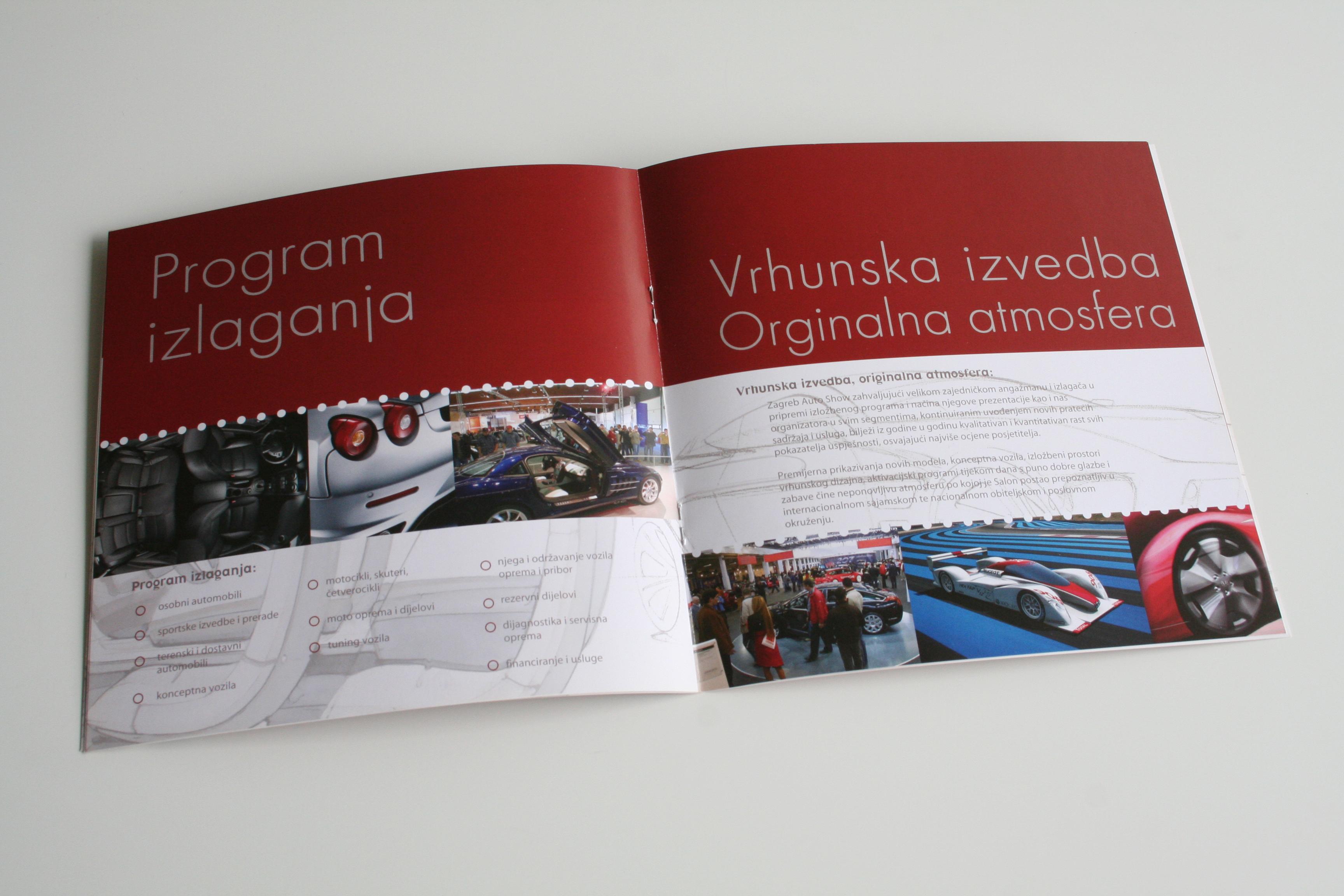 Zagreb Auto Show, booklet