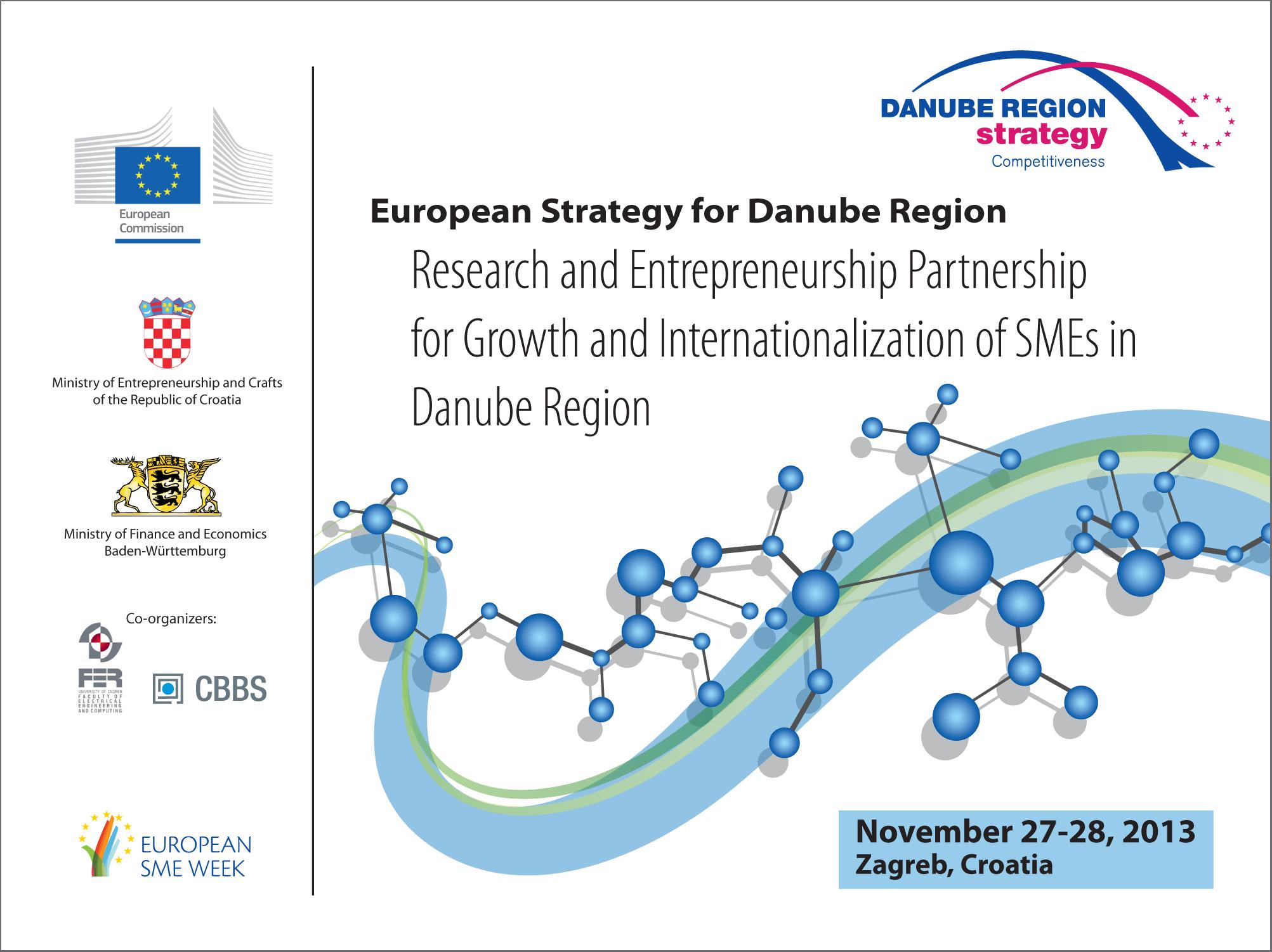 European strategy for Danube region, display