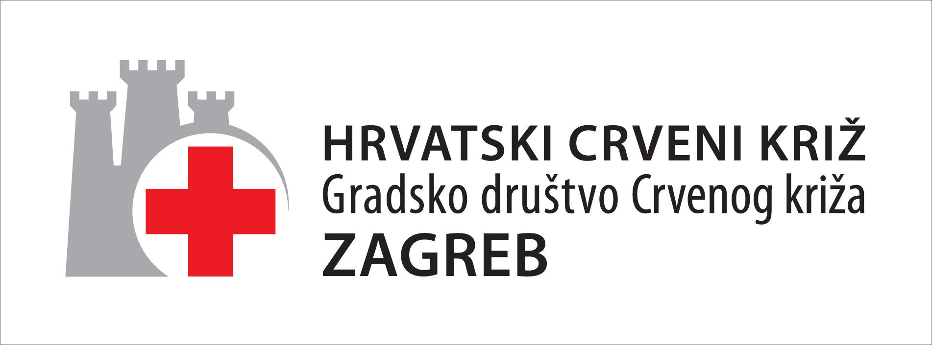 Red Cross, Zagreb branch, logo