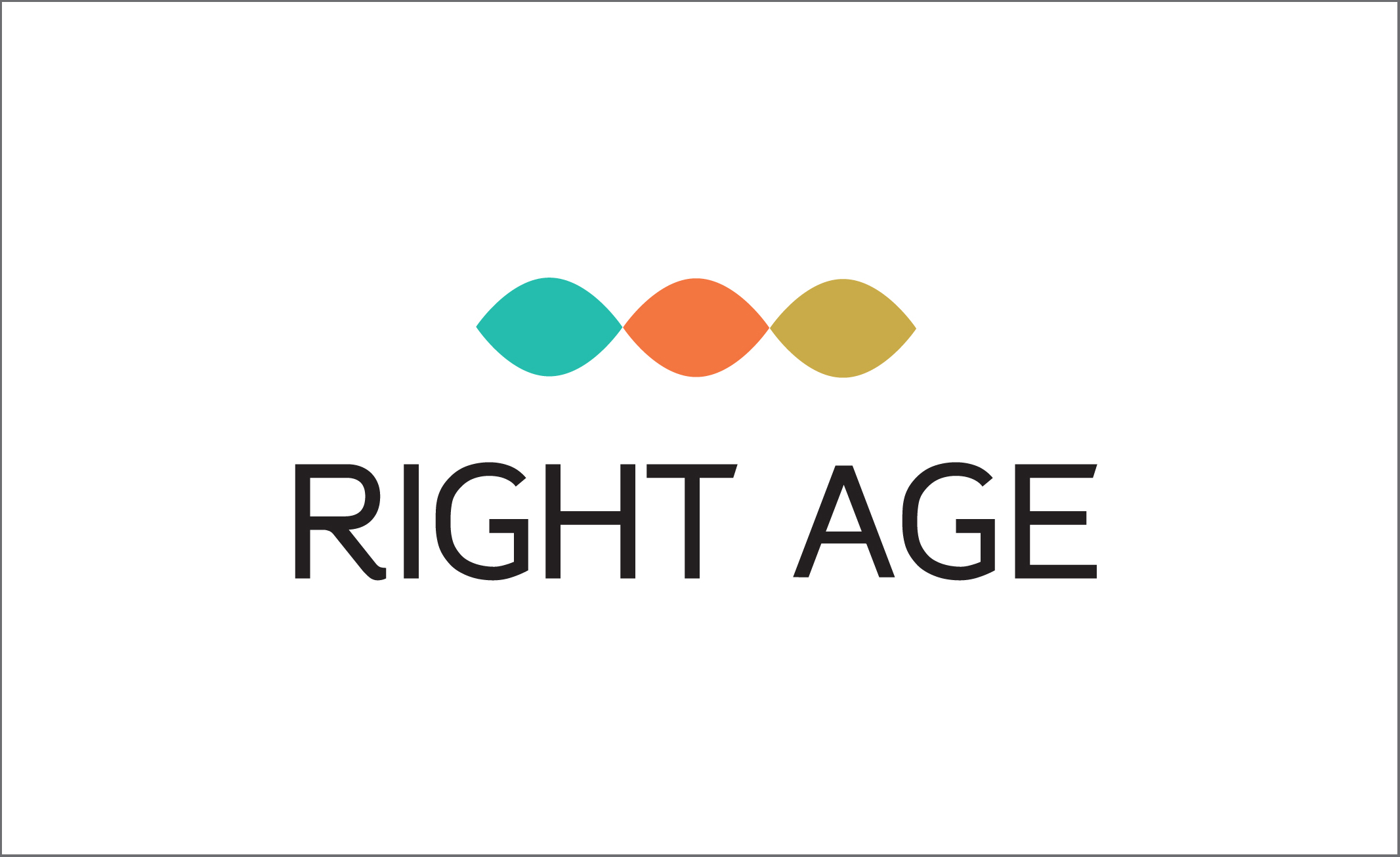 Right age senior fair, logo EN