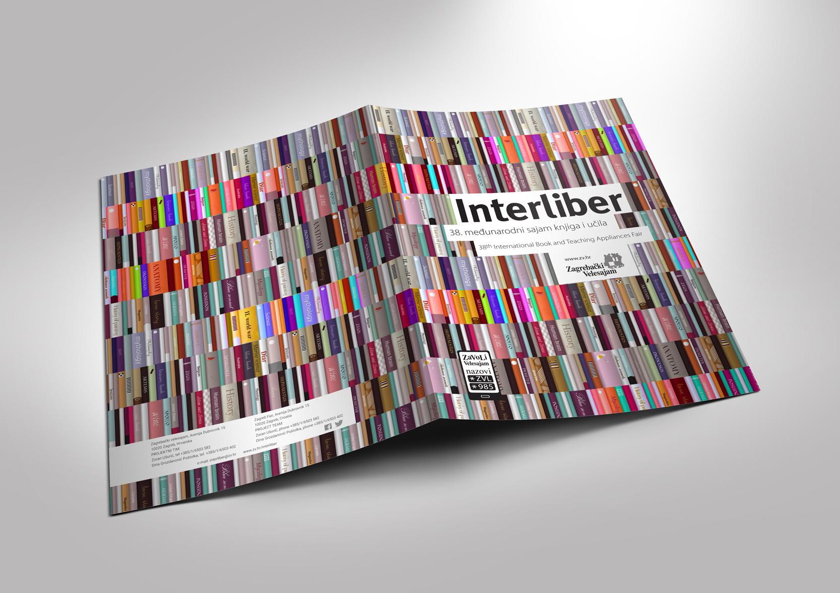 Interliber - international book and teaching appliances fair, brochure