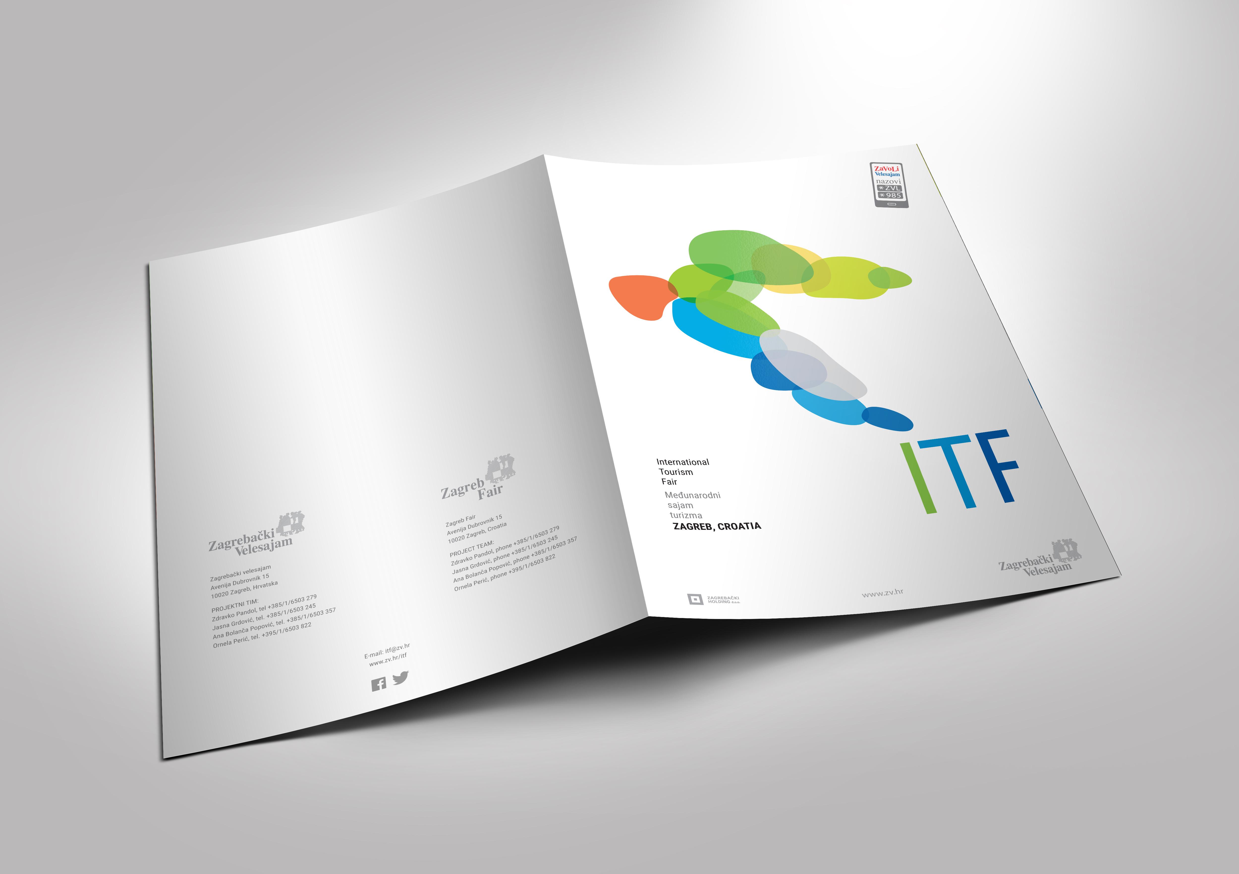 International tourism fair Zagreb, 2015 promo materials folder