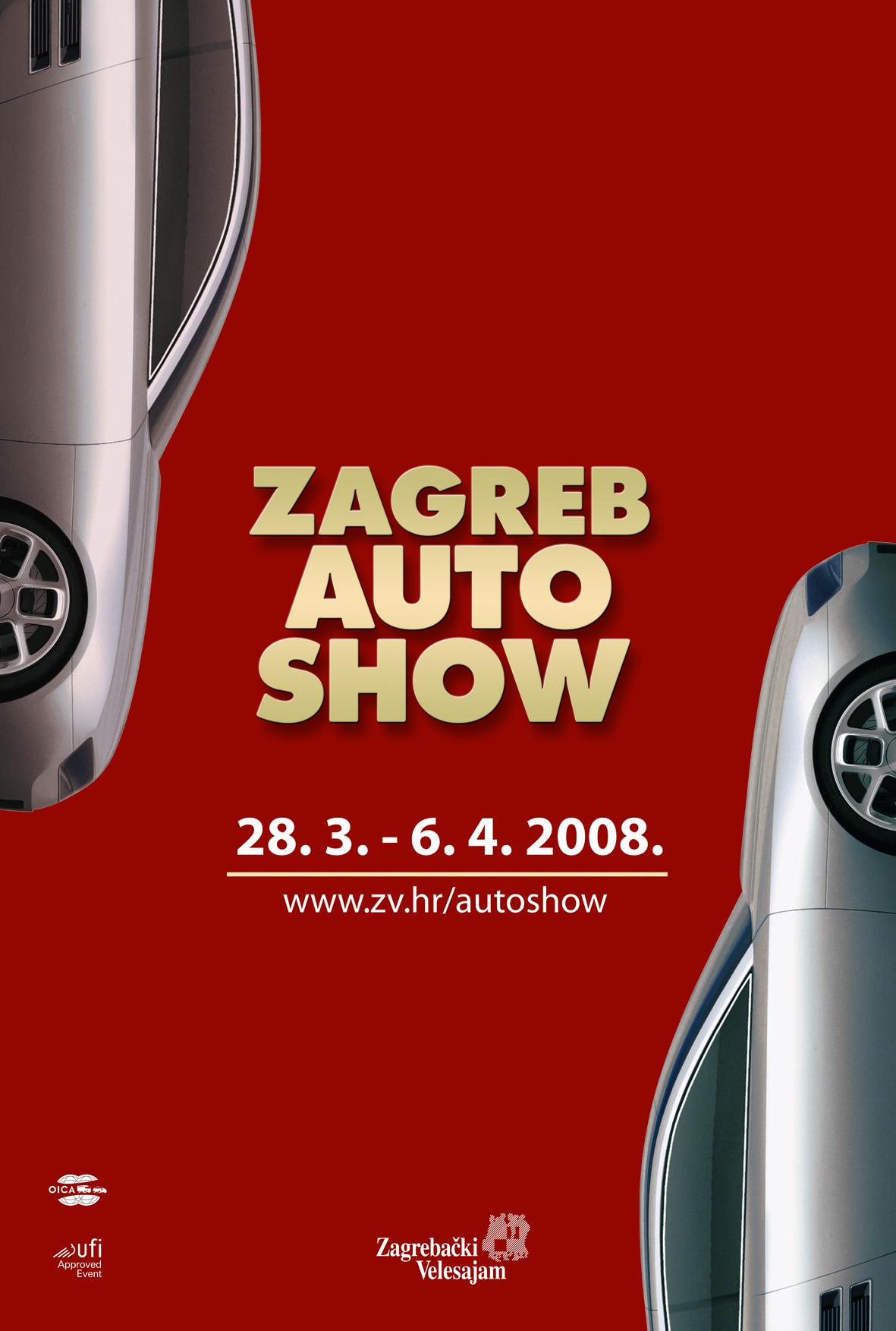 Zagreb Auto Show, poster