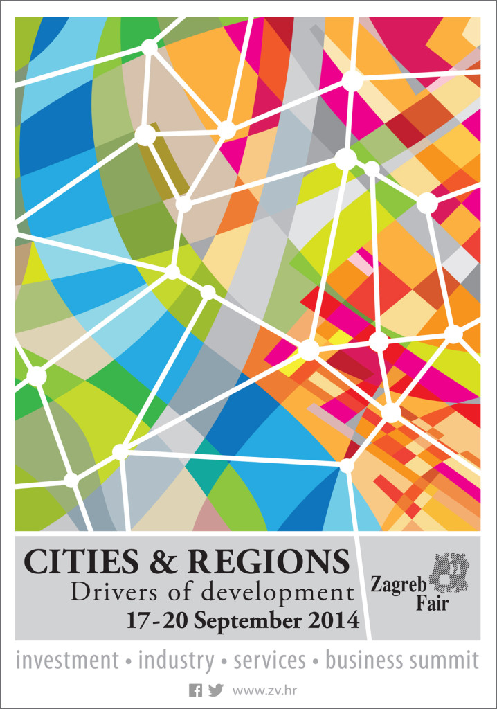 Cities and regions, poster