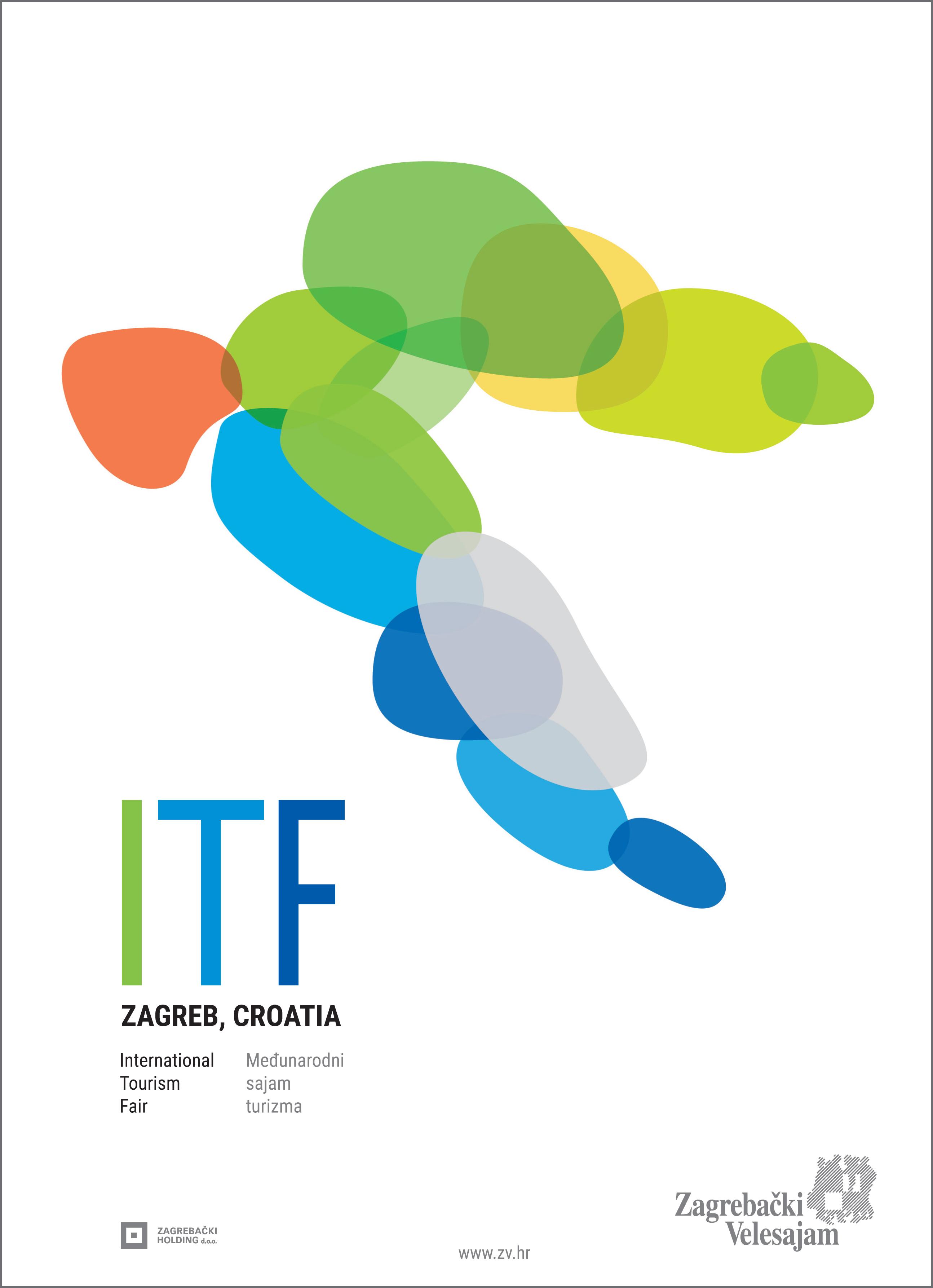 International tourism fair 2015, Zagreb - poster