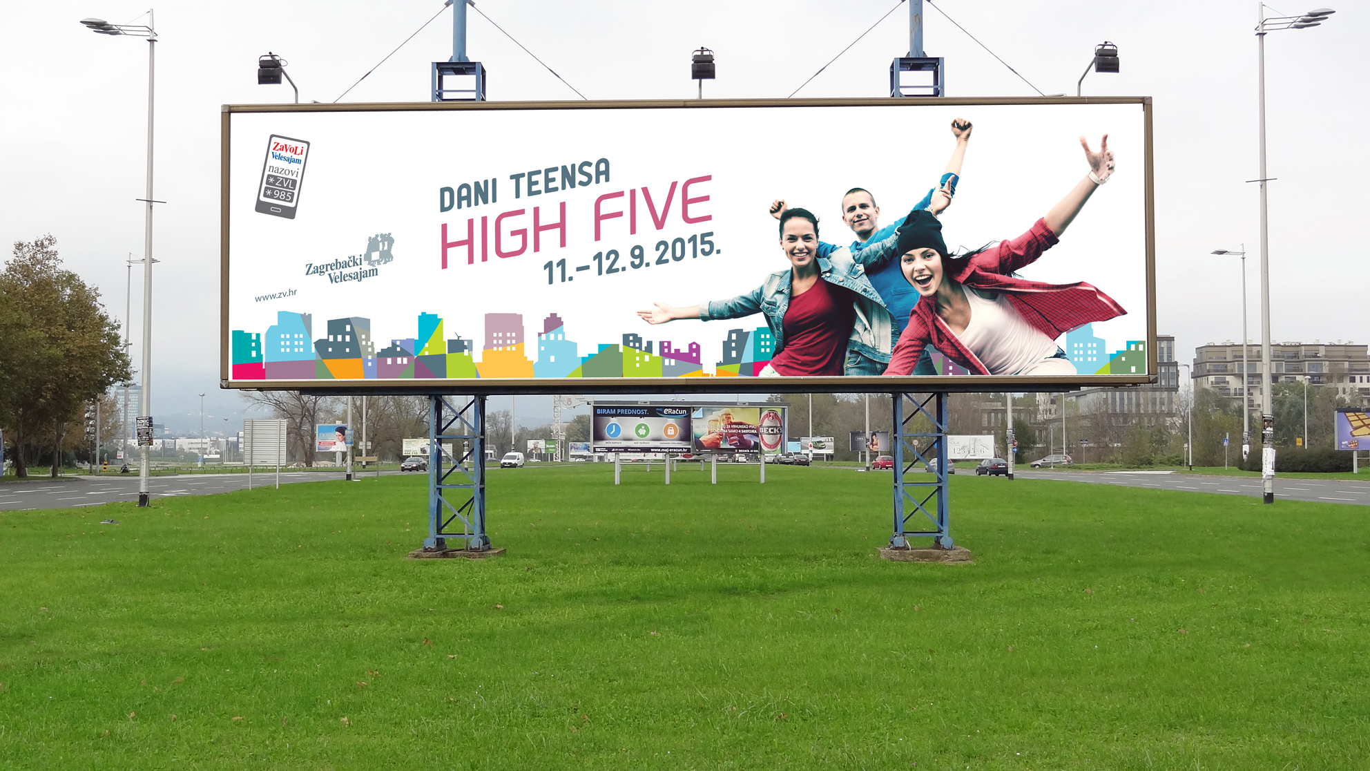 High five teen days, billboard