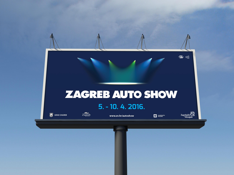 Zagreb Auto Show 2016 billboard