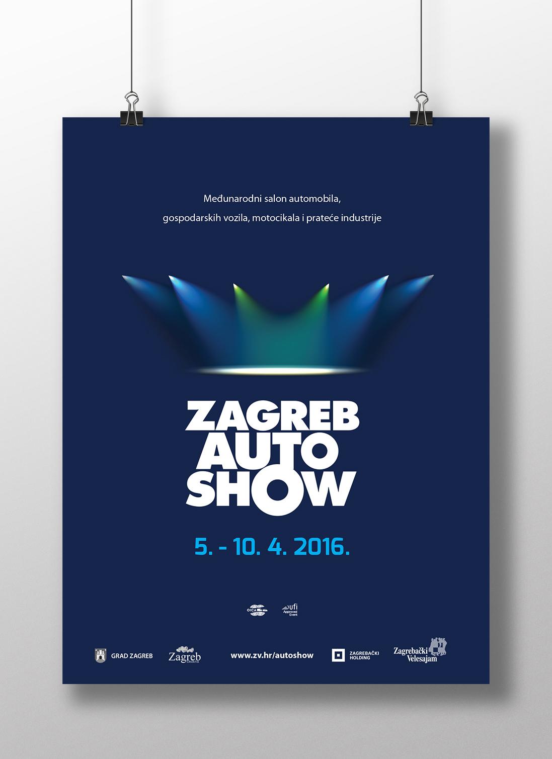 Zagreb Auto Show 2016 poster